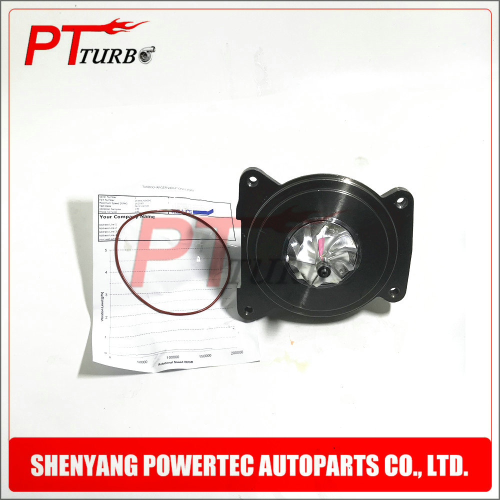 Turbo charger core BALANCED 04E145702G for VW Tiguan Passat 1.4 TSI CSSA CSTA DBVA - NEW CHRA cartridge turbolader 16389700000