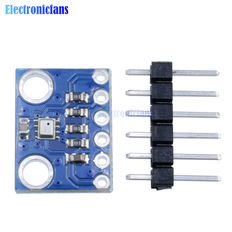 BMP280 Digital Barometric Pressure Sensor Board Module Swap I2C/SPI BMP280 BME280 3.3V Blue Ultra-low Power High Precision
