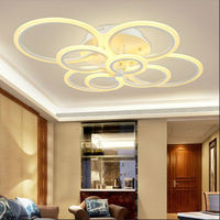 Modern LED Ceiling Light Plafondlamp Luster Ceiling Decoration Iron Ceiling Lamp Living Room Lighting Luminaria