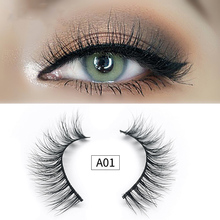 3D Mink Lashes Thick Natural Cross False Eyelashes Long Messy Makeup Fake Eye Lashes Extension Make Up Beauty Tools For Female недорого