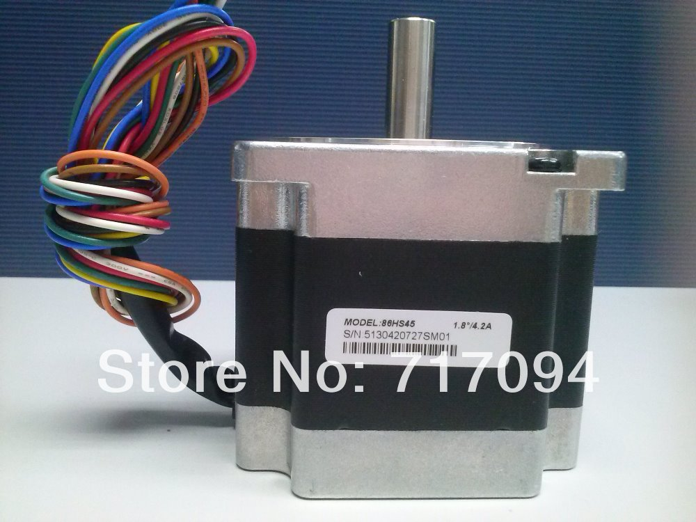 Leadshine 86HS45 2-phase Hybrid Stepper Motor NEMA 34 637.2 Oz-in 8-leads #SM364 @SD 2 phase stepper motor and drive m542 86hs45 4 5n m new