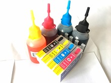 T0715 Ink Refill Kit For Epson Stylus DX8400 DX8450 DX9400 DX9400F S20 S21 SX100 SX110 SX200 SX209 SX210 SX400 SX510W Printer
