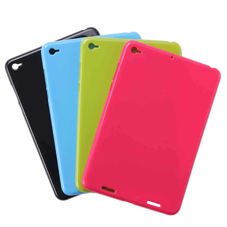 Ultra Slim Waterproof Soft Silicone Rubber Protective TPU Shell Case Cover For Xiaomi Mipad2 Mipad3 Mipad 2 Mipad 3 7.9' Tablet luxury ultra slim waterproof soft silicone rubber protective shell case cover for asus eee pad transformer prime tf201