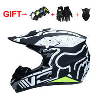 Fashion Motorcycle Off road Helmets Atv Motocross Helmet Mtb Downhill Full Face Capacete Casco Free 3 Gifts Goggles Gloves Mask