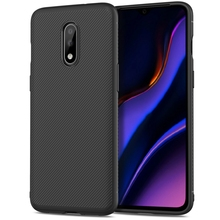 For OnePlus 7 Case Soft Silicone Texture Carbon Fiber Slim Matte TPU Cover For Oneplus 7 Pro One Plus 7 Case Shockproof