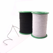 2018 Real Rubber Bungee Cord Free Shipping 0.5 Mm Super Fine Round Elastic Sewing The Bottom Line Thin Rope Silk Beaded On Sale