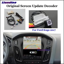Liandlee For Ford Kuga 2017 Original Screen Update System Car Rear Reverse Parking Camera Digital Decoder Reversing system