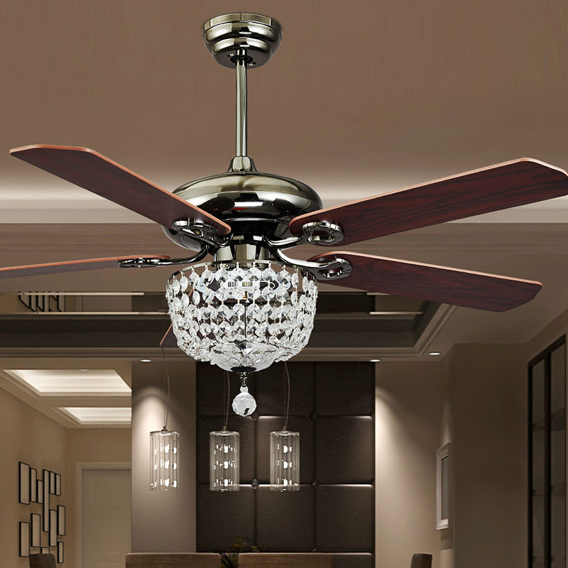 fashion vintage ceiling fan lights funky style fan lamps bedroom dinning room living room fan. Black Bedroom Furniture Sets. Home Design Ideas