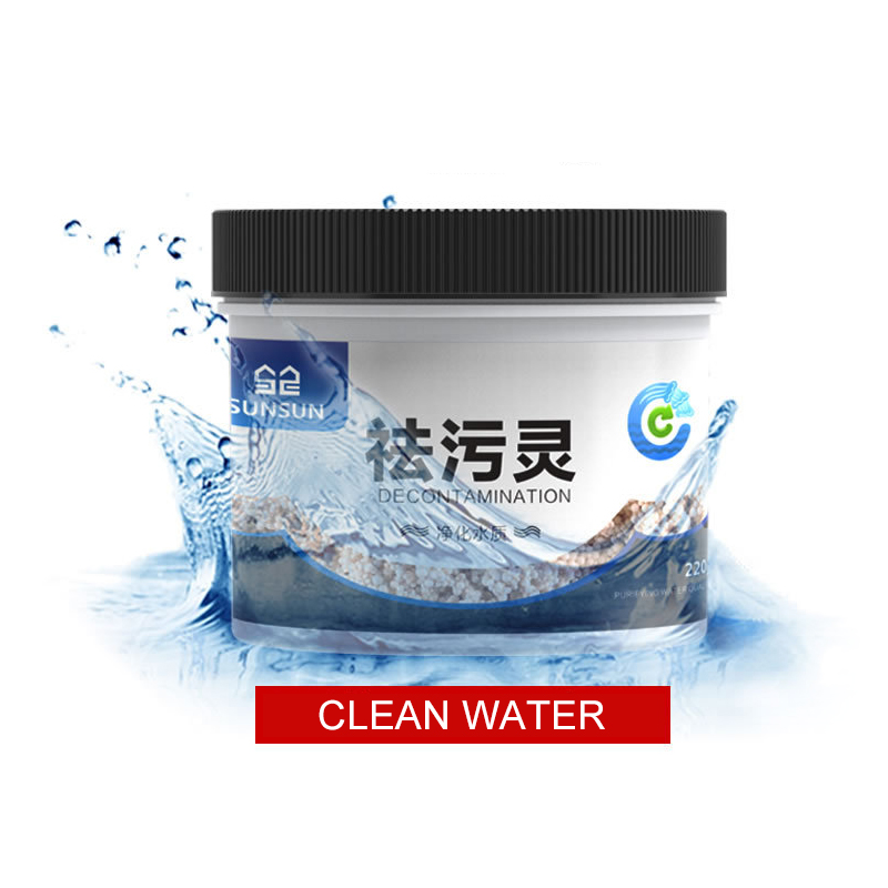 Aquarium Water Purifying Decontamination Revert Water,Adsorb Harmful Pollutant,Remove Yellow Water Bad Smell,Stop Algae For Fish