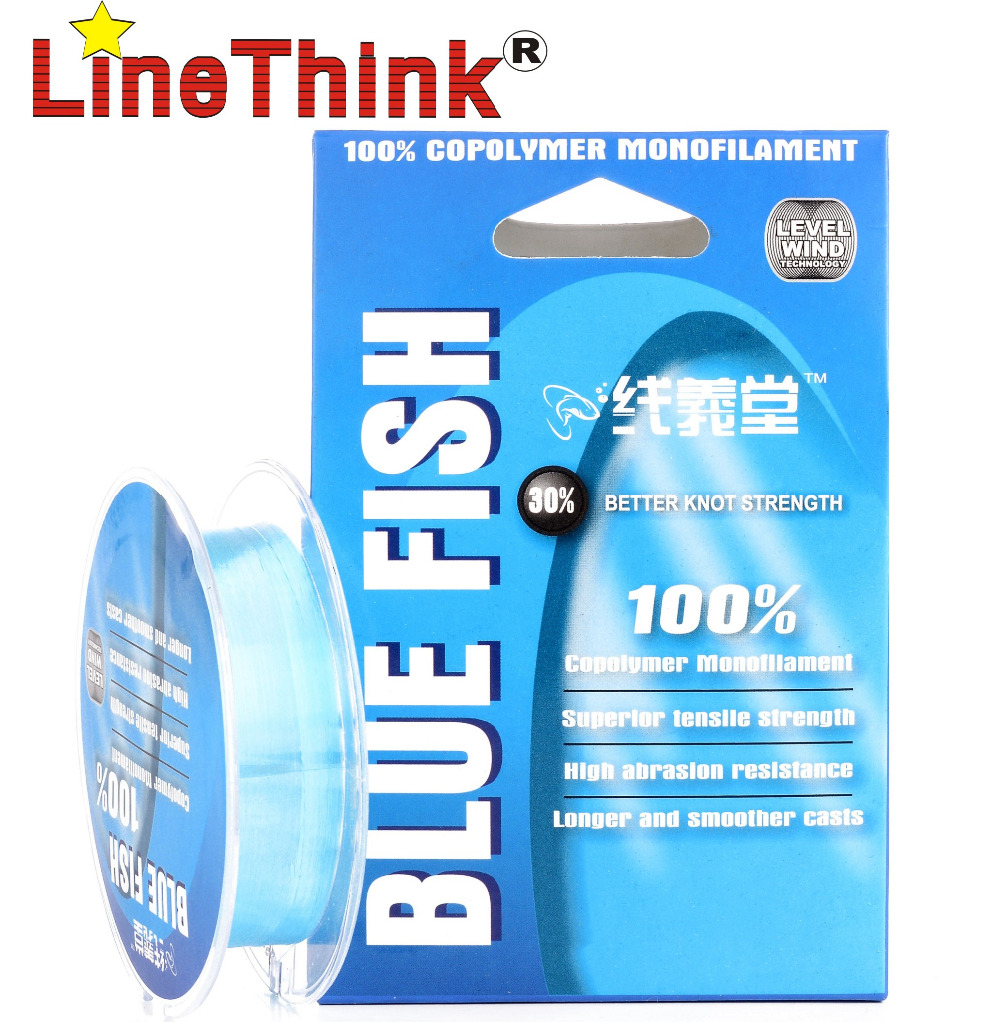 Buy 120m linethink blue fish high quality for Where to buy fishing line