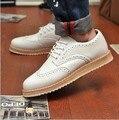 2017 slip-on de promoción nueva llegada enredaderas 45 transpirable y brockden, zapatos de plataforma de la moda de los hombres zapatos bajos del envío libre