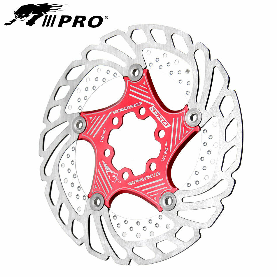 MTB Bicycle Bike Brake Rotor Floating Brake Disc 160//180//203mm For SHIMANO SRAM