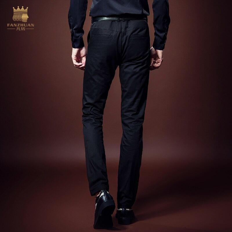 Hombre Moda Llegados Gratuito Recién Vestido 618061 Bordado Envío Personalidad Microeyection Hombres Pantalones Casual Delgado q4wXA1x