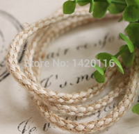 10Yard 12 Share Rustic Natural Hessian Twine Jute Rope Decoration Craft Supplies