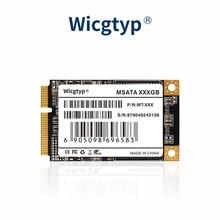 Wicgtyp mSATA SSD SATA3 III 6GB/S SATA II 256GB HD SSD Solid State Drive Disk All Signal PCFor Think
