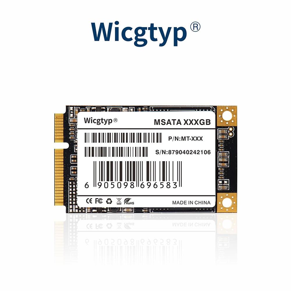 Wicgtyp mSATA SSD SATA3 III 6 GB/S SATA II 512GB disque dur SSD SSD SSD tous les signaux PCFor Thinkpad pour DELL pour HP pour ASUS