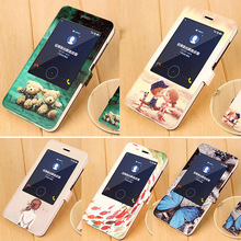 Smart View Flip PU Case Huawei Honor honor 4x Leather Phone Shell Case Huawei honor 4x Cover Battery Case Sleep Function
