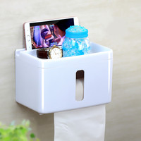 Creative Home Wall Mounted Toilet Paper Holder No Drilling Installation Required Roll Paper Holder Bathroom Accessories