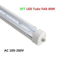 Tubos de LED FA8 T8 4ft 6ft 8ft Levou Luzes Do Tubo alta Super Bright Branco Quente Branco Fresco Levou Tubo Fluorescente AC85-265V