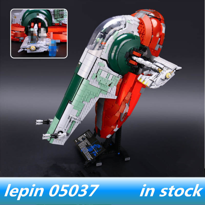 lepin 05037 slave 1 lepin ucs Star Wars Slave UCS I legoing starwars Slave NO.1 75060 Model Building Block Bricks Toys рулонная штора волшебная ночь 120x175 стиль прованс рисунок emma