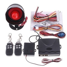 One-Method Automotive Automobile Alarm Safety System Keyless Entry Siren Protecting 2 Distant Management Burglar Motor Accent P16