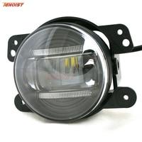 Universal 3.5 Inch 3*5W LED DRL Fog Light For Offroad Wrangler Car 12V 24V