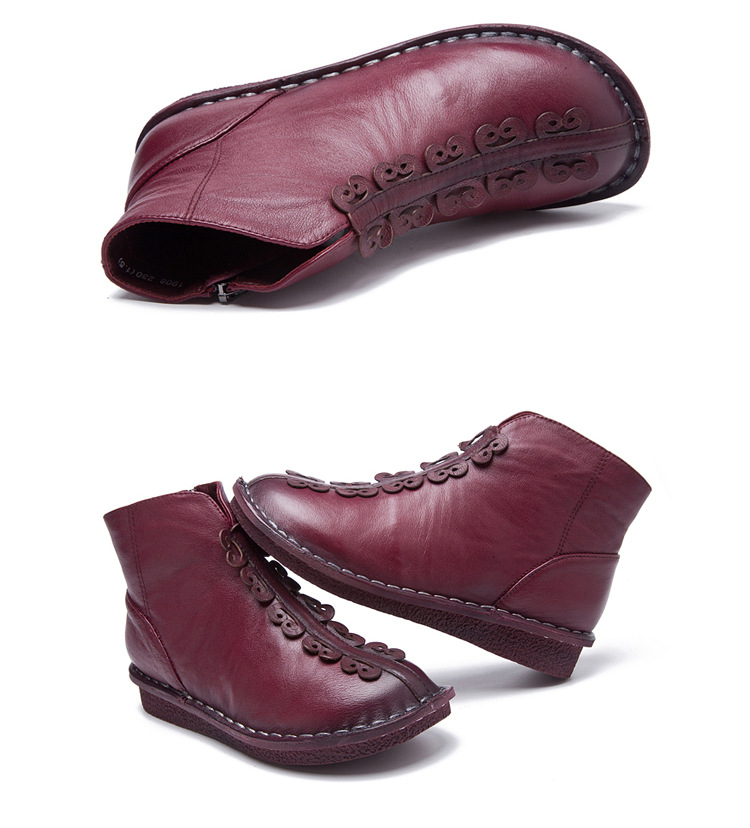 6c0142462 HOT SALE] Autumn and winter new short Women's boots soft bottom ...
