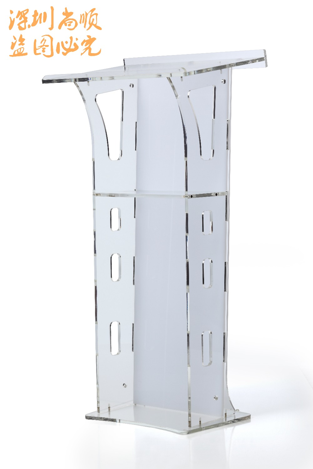 Free Shipping Truth ministries christian clear acrylic lectern cheap church podium free shiping cheap clear acrylic lectern