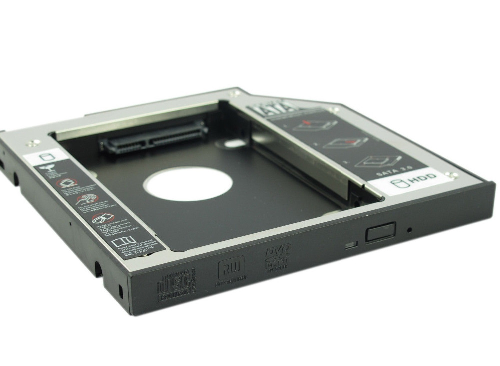 NEW 2ND SSD HDD HARD DRIVE Caddy for DELL M4800 M6800 M6400 M6500 M4700 M6600
