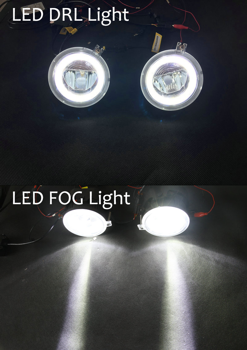 Led Fog Halo Rings Lights