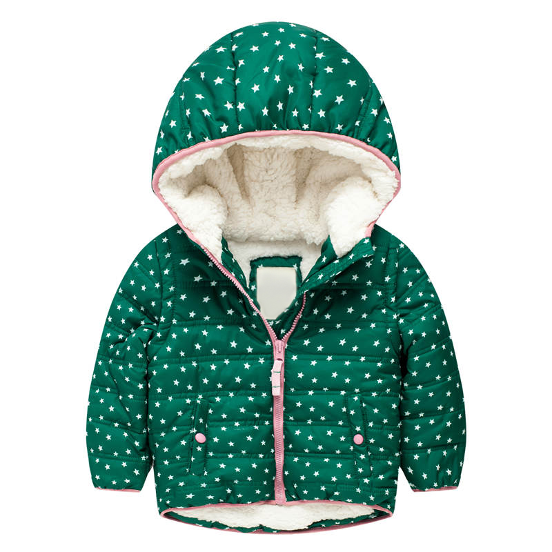 Girls Winter Jackets Thick Warm Boys Coats with Fleece 2017 Brand Children Parkas Outerwear Hooded Baby Boy Jacket Girl Clothing casual 2016 winter jacket for boys warm jackets coats outerwears thick hooded down cotton jackets for children boy winter parkas