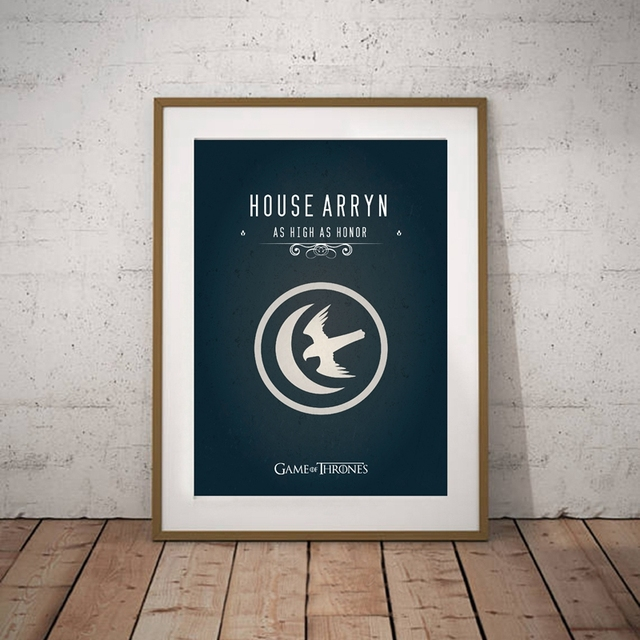"""""""Game of Thrones"""" Wall Art Canvas  4"""