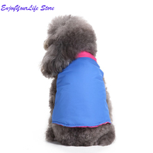 2019 Warm Dog Clothes Pet Casual Coat Jacket Puppy Padded Vest Windproof Clothing Winter Pets Apparel