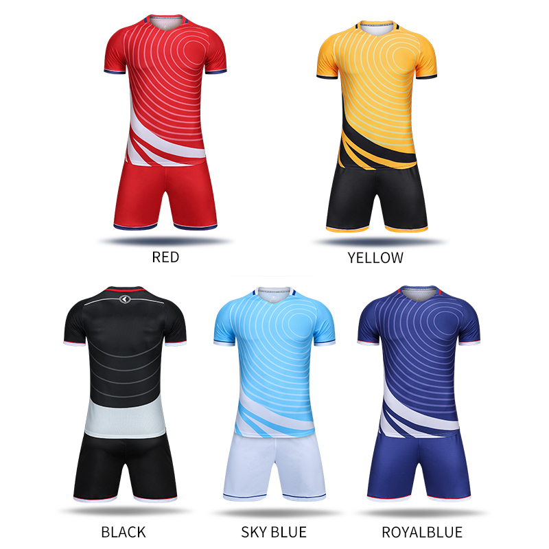 88901038a1f Custom Men Soccer Jerseys Professional Football Kits Team Training Uniforms  Short Sleeve Shirts Breathable Polyester Sportswear | Oceania