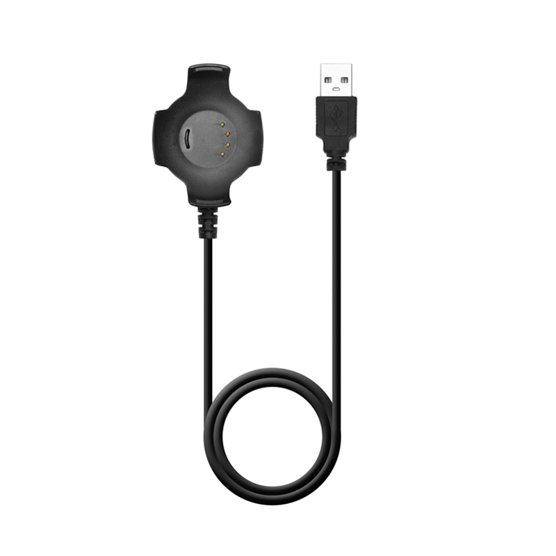 5V / 300mA 1M Black USB Charging Cable Cradle Quick Charger Fit For Xiaomi Huami Amazfit Smart Watch Smart Accessories