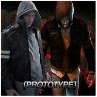 Хэллоуин костюмы Прототип АЛЕКС косплей костюмы для мужчин аниме одежды кожаные куртки Толстовки на заказ
