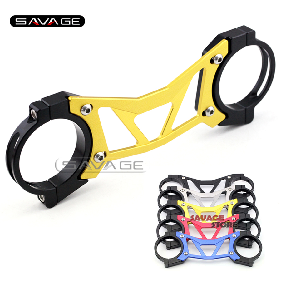 For HONDA CBR650F CB650F 2014-2015 Gold BALANCE SHOCK FRONT FORK BRACE Motorcycle Accessories waase radiator protective cover grill guard grille protector for honda cbr650f cb650f cbr cb 650 f 2014 2015 2016 2017