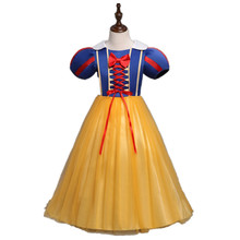 New Summer Girls Princess Dresses Kids Girls Halloween Party Christmas Cosplay Dresses Costume Children Girl Clothing DS29