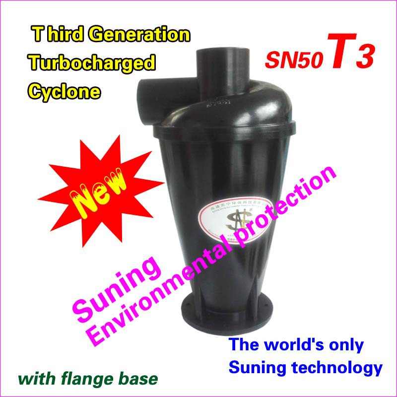 Cyclone  SN50T3 (Third generation turbocharged Cyclone----with flange base)  1  piece
