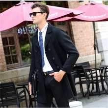 100% wool Winter Jacket Men Casual Wool Coats Double-sided High-quality Material Men's Busniess Outerwear Windbreaker Clothing