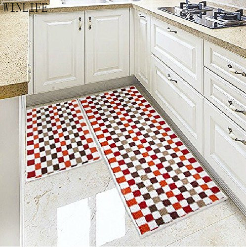 Aliexpress.com : Buy WINLIFE Mosaic Kitchen Rugs Colorful