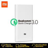 Xiaomi Power Bank 20000mAh 2C External Battery Quick Charge 3.0 Powerbank Portable Charger for IPhone mobile phone Samsung