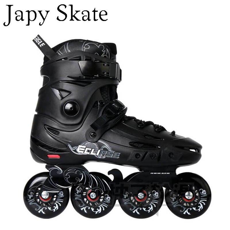 Japy Skate Flying Eagle F5s Inline Skates 8 Hyper G Wheels Falcon Adult Roller Skating Shoes