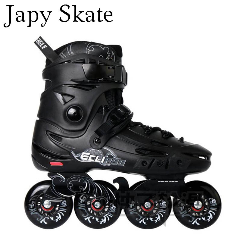 Jus japy Skate Flying Eagle F5s Patins À Roues Alignées et 8 Hyper + G Roues Faucon Adulte À Rouleaux Chaussures De Patinage Slalom Livraison SEBA de patinage Patines