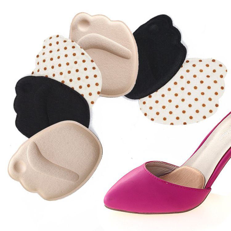 Women  Pads High Heel Soft Insert Anti-Slip Foot Protection Pain Relief Female  Shoes Insert Forefoot Insoles Shoes