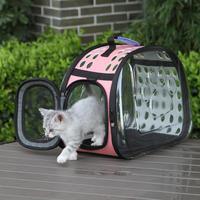 Di alta Qualità Piccolo Trasparente Gattini e Cuccioli di Animali di Modo del Sacchetto Piccoli Animali Domestici Sacchetto Esterno Sacchetto Cucciolo Cani Gatti Trasportare Rifornimenti