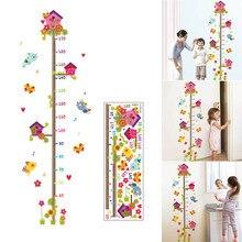 Стикер мультяшка стены ветка клетка Ростомер украшения для дома детский сад TT-best
