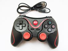 [Genuine]X3 Bluetooth Wireless Gamepad S600 STB S3VR Game Controller Joystick For Android IOS Mobile Phones PC Handle