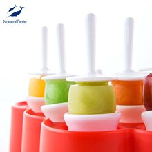 Popsicle Lollipop Ice Mold Silicone Holder Sticks Candy Bar Cream Chocolate Sugar Ball Molds
