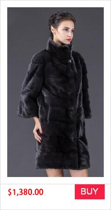REAL MINK FUR COAT WINTER WOMEN COAT (5)